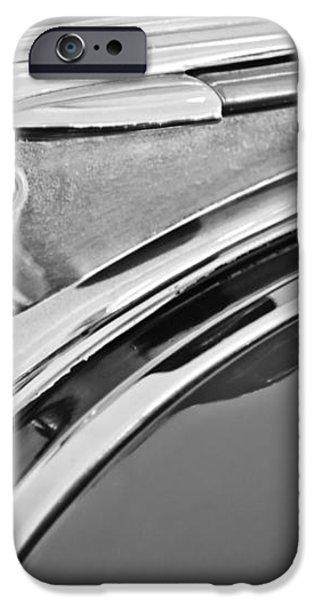 1948 Pontiac Chief Hood Ornament 2 iPhone Case by Jill Reger