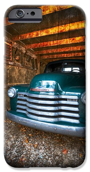 1950 Chevy Truck iPhone Case by Debra and Dave Vanderlaan