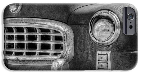 Statesmen iPhone Cases - 1950 Nash Statesman iPhone Case by Scott Norris