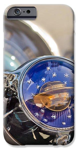 1950 Oldsmobile Rocket 88 Steering Wheel iPhone Case by Jill Reger