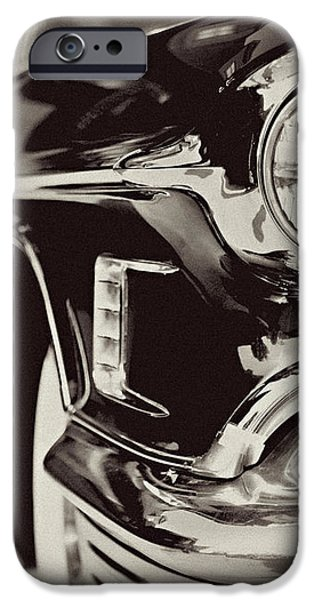 1950s Cadillac No. 1 iPhone Case by Lisa Russo