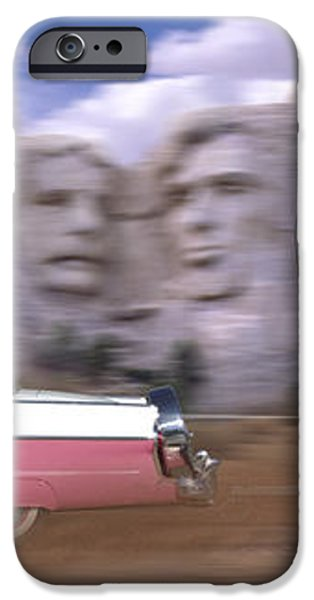 1950s Family Vacation Panoramic iPhone Case by Mike McGlothlen