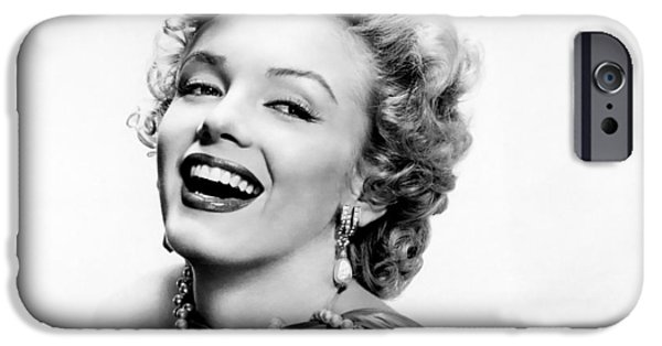 1950s Movies iPhone Cases - 1950s Marilyn Monroe iPhone Case by Nomad Art And  Design