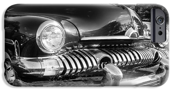 Ma iPhone Cases - 1951 Mercury Coupe - American Graffiti iPhone Case by Edward Fielding