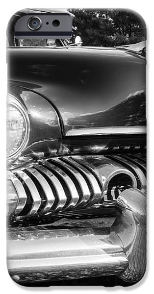 1951 Mercury Coupe - American Graffiti iPhone Case by Edward Fielding