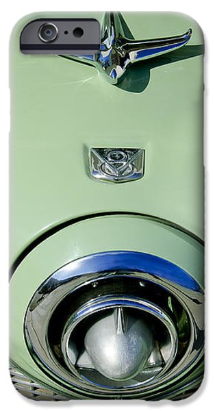 1951 Studebaker Commander Hood Ornament 2 iPhone Case by Jill Reger