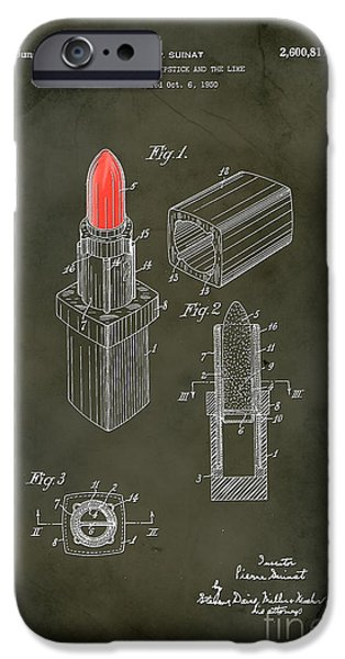 Empower iPhone Cases - 1952 Chanel Lipstick Case 5 iPhone Case by Nishanth Gopinathan
