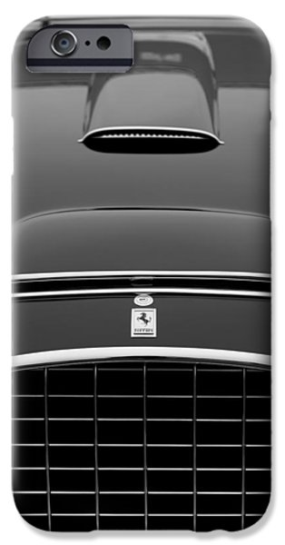 1952 iPhone Cases - 1952 Ferrari 342-375 America Pinin Farina Cabriolet Grille iPhone Case by Jill Reger
