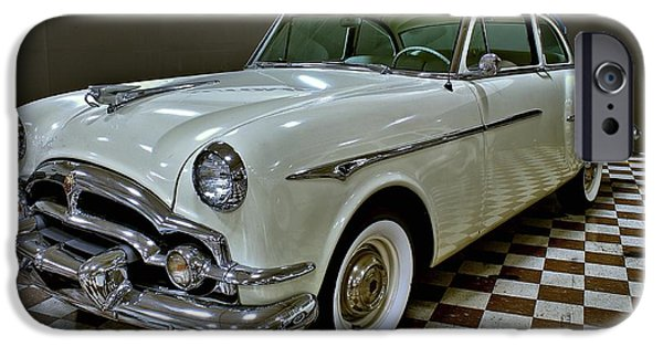 Torsion iPhone Cases - 1953 Packard Clipper iPhone Case by Michael Gordon
