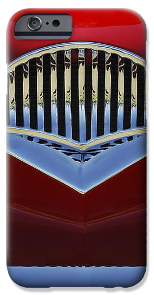 1954 Kaiser Darrin Grille iPhone Case by Jill Reger