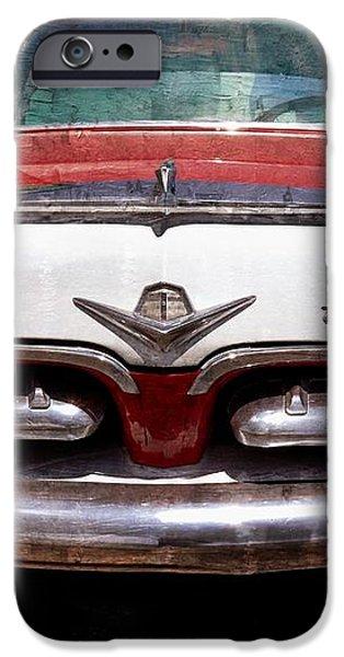 1955 Dodge in Oil iPhone Case by Steve Kelley
