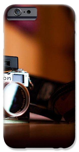 1955 Nikon S2 iPhone Case by Aaron Aldrich