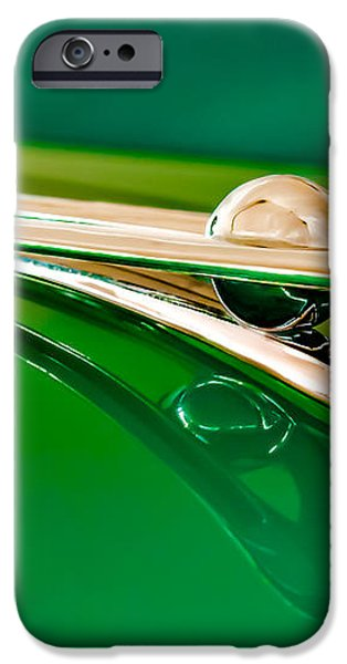 1955 Packard Clipper Hood Ornament 3 iPhone Case by Jill Reger