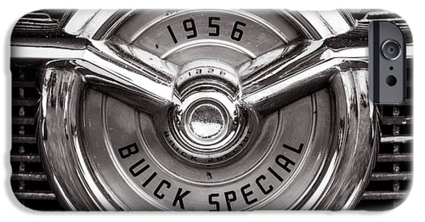 Multimedia iPhone Cases - 1956 Buick Special iPhone Case by Joshua Ball