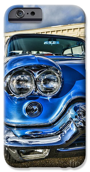 1956 Cadillac Eldorado  iPhone Case by Paul Ward