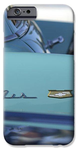 1956 Chevrolet Belair Nomad Rear End iPhone Case by Jill Reger
