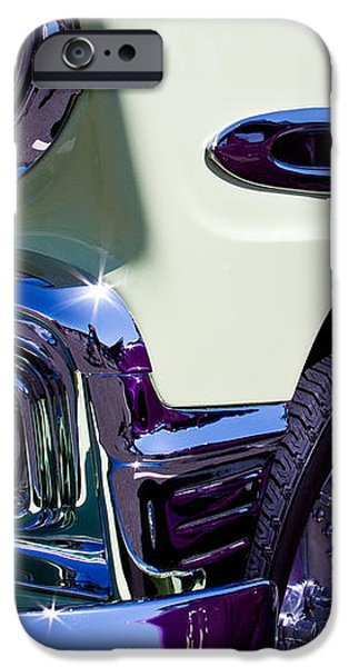 1956 Chevy Bel Air Custom Hot Rod iPhone Case by David Patterson