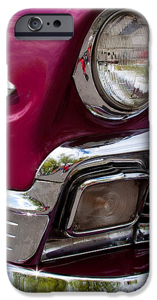 1956 Chevy Bel Air iPhone Case by David Patterson