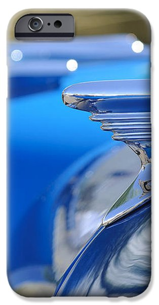 1957 Oldsmobile Hood Ornament 3 iPhone Case by Jill Reger