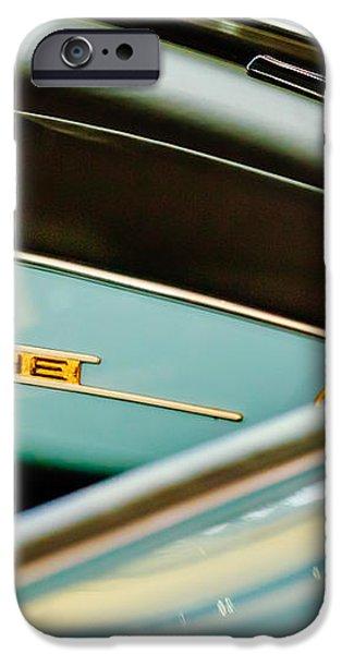1958 Porsche 356 A Speedster Dash Emblem iPhone Case by Jill Reger