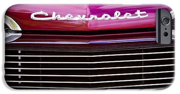 David iPhone Cases - 1959 Chevy Biscayne iPhone Case by David Patterson