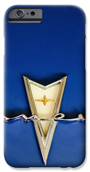 1959 Pontiac Bonneville Emblem iPhone Case by Jill Reger