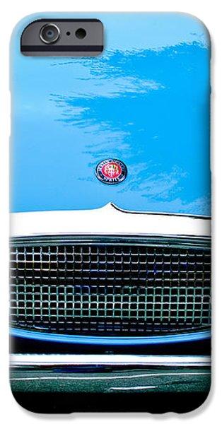 1960 Austin-Healey Sprite iPhone Case by Jill Reger