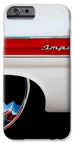 1960 Chevrolet Impala iPhone Case by David Patterson