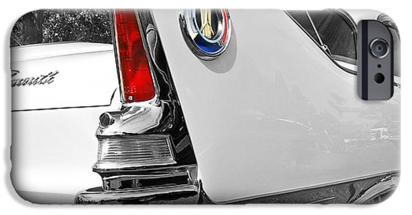 Fury iPhone Cases - 1960 Plymouth Fury iPhone Case by Gill Billington
