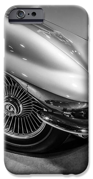 1960's Corvette C2 in Black and White iPhone Case by Paul Velgos