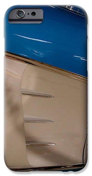 1961 Chevrolet Corvette V iPhone Case by David Patterson