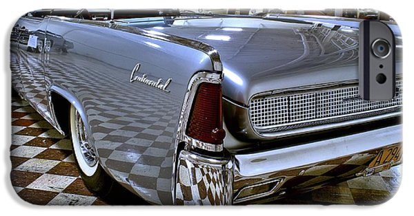 Lincoln iPhone Cases - 1961 Lincoln Continental Taillight iPhone Case by Michael Gordon