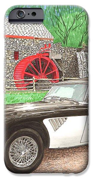 1963 Austin and Sudbury Mill iPhone Case by Jack Pumphrey