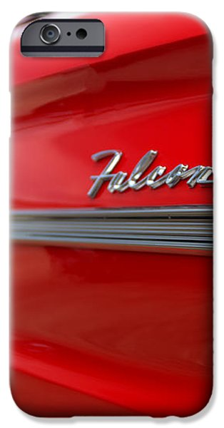 1963 Ford Falcon Name Plate iPhone Case by Brian Harig