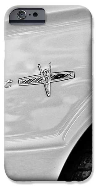 1963 Ford Falcon Sprint Side Emblem iPhone Case by Jill Reger