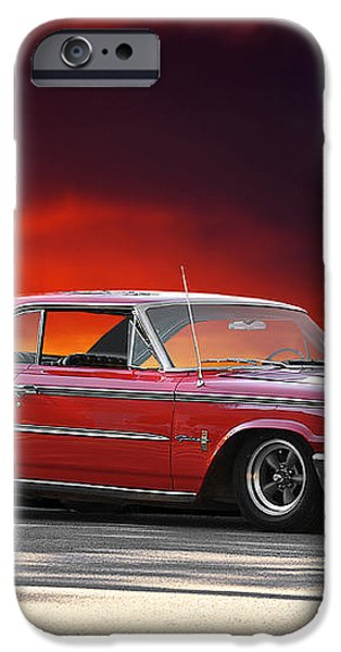 1963 Ford Galaxie 427 iPhone Case by Dave Koontz