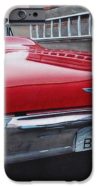 1963 Ford Thunderbird iPhone Case by Paul Kuras