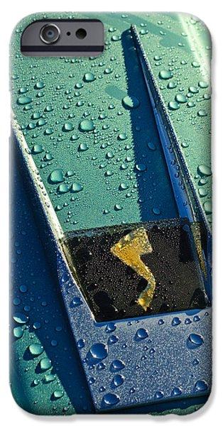 1963 Studebaker Avanti Hood Ornament iPhone Case by Jill Reger