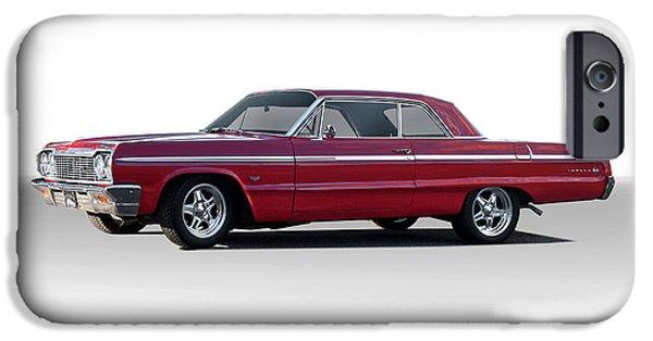 Automotive iPhone Cases - 1964 Chevrolet Impala Super Sport iPhone Case by Dave Koontz