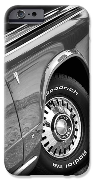 Old Digital Art iPhone Cases - 1964 Dodge Dart iPhone Case by Gordon Dean II