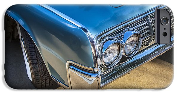 Lincoln iPhone Cases - 1964 Lincoln Continental Convertible  iPhone Case by Rich Franco