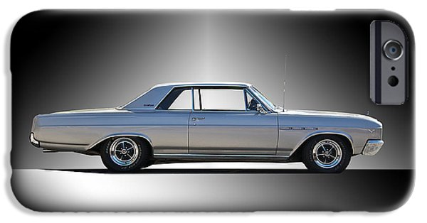 Slick iPhone Cases - 1965 Buick Gran Sport iPhone Case by Dave Koontz