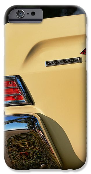 1964 Ford Emblem iPhone Cases - 1965 Mercury Comet Cyclone iPhone Case by Gordon Dean II