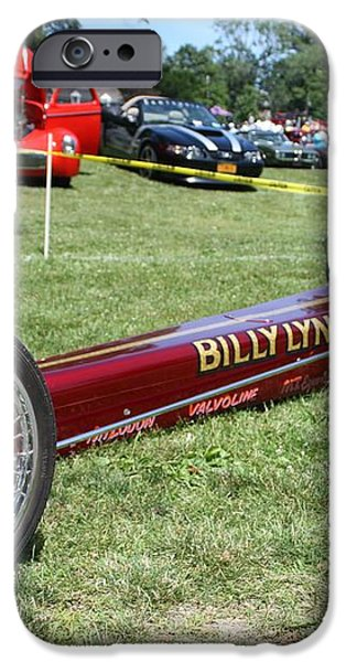 1967 Billy Lynch's Top Fuel Dragster iPhone Case by JOHN TELFER