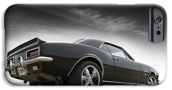 Chevrolet iPhone Cases - 1967 Camaro RS iPhone Case by Douglas Pittman