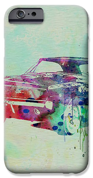 1967 Dodge Charger  2 iPhone Case by Naxart Studio