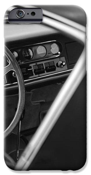 1967 Ferrari 275 GTB-4 Berlinetta Steering Wheel iPhone Case by Jill Reger