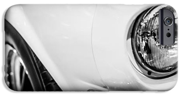 1960s iPhone Cases - 1967 Ford Mustang Shelby GT350 Panorama Photo iPhone Case by Paul Velgos