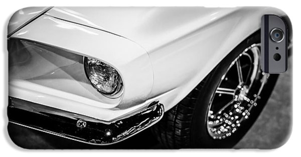 Old Photos iPhone Cases - 1967 Shelby GT350 Ford Mustang Photo iPhone Case by Paul Velgos