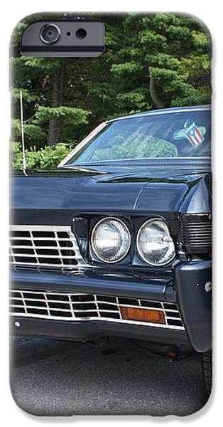 1968 Chevrolet Impala Sedan iPhone Case by JOHN TELFER